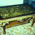Столик, ракушечник