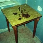 Стол кухонный, шпон
