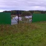 Строительство стационарного забора 21