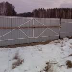 Строительство стационарного забора 27