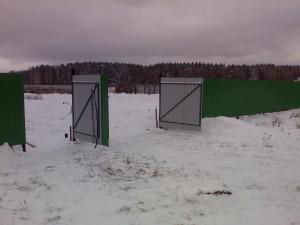 Строительство стационарного забора