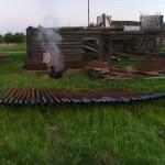 Строительство стационарного забора 5
