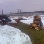 Заготовка дров 8