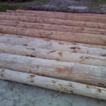 Как ошкурить лес — брёвна