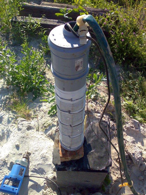 Как сделать фильтр для скважины своими руками для песка 82
