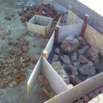 Фундамент камина 2