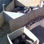 Фундамент камина 4
