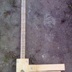 Как сделать мерную вилку для измерения диаметра брёвен