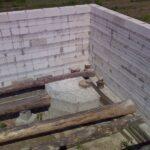 Как залить фундамент камина