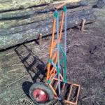 Как сделать тележку для перевозки грузов